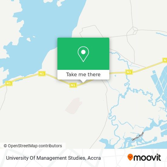 University Of Management Studies map