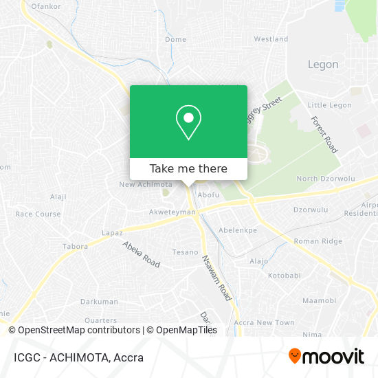 ICGC - ACHIMOTA map
