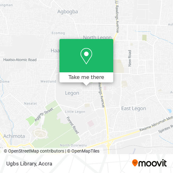 Ugbs Library map