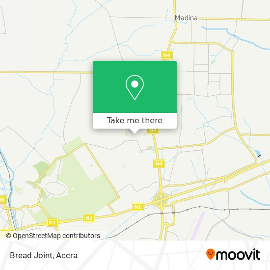 Bread Joint map