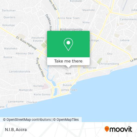 N.I.B map