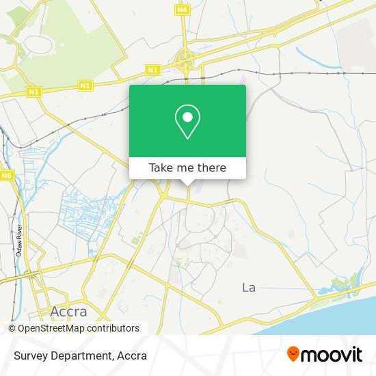 Survey Department map
