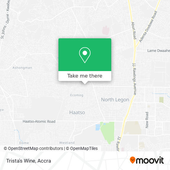 Trista's  Wine map