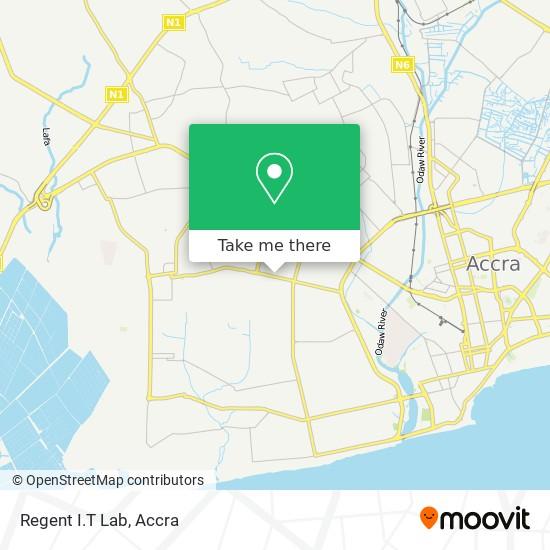 Regent I.T Lab map