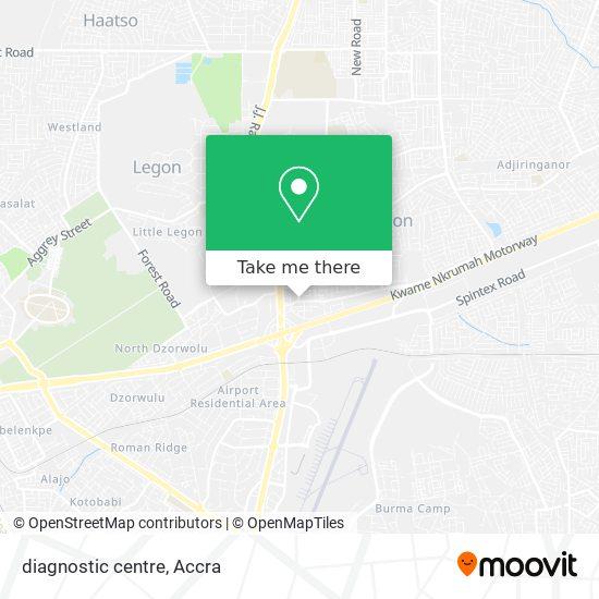 diagnostic centre map