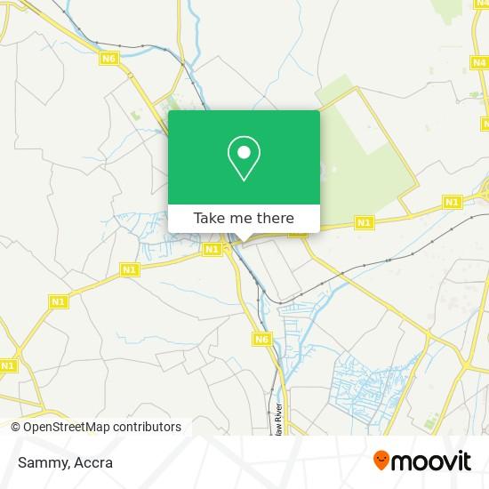 Sammy map