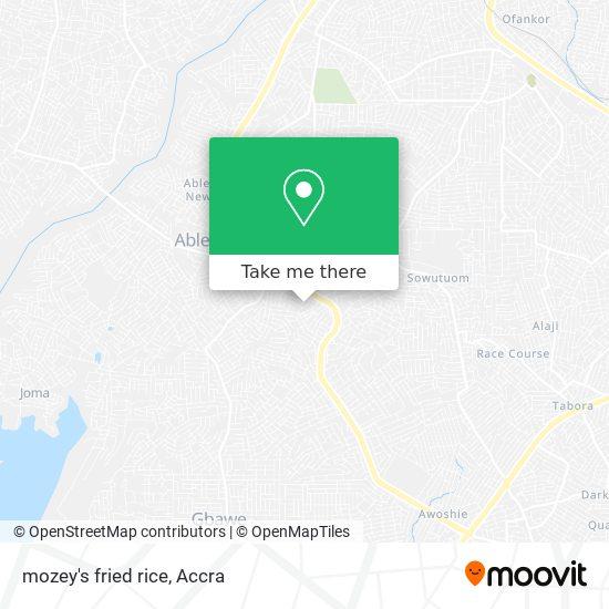 mozey's fried rice map