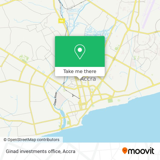 Ginad investments office map