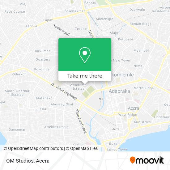 OM Studios map
