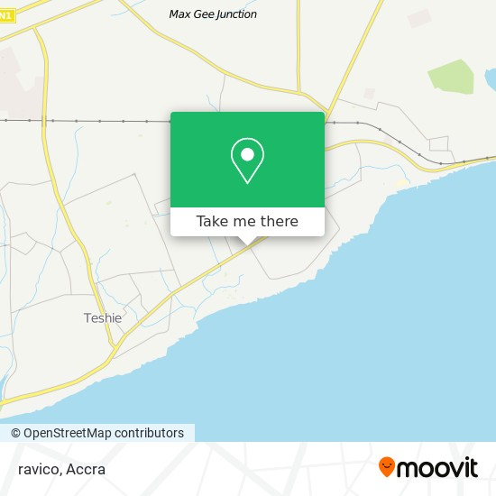 ravico map