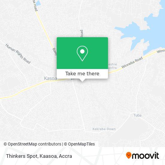 Thinkers Spot, Kaasoa map