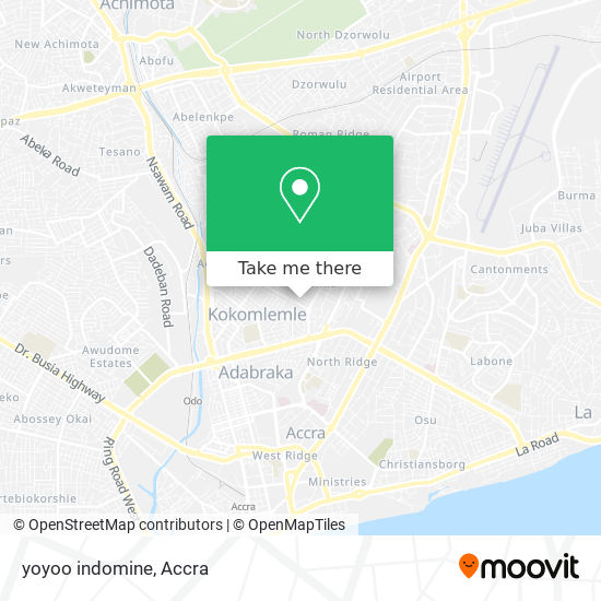 yoyoo indomine map