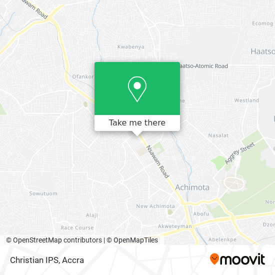 Christian IPS map