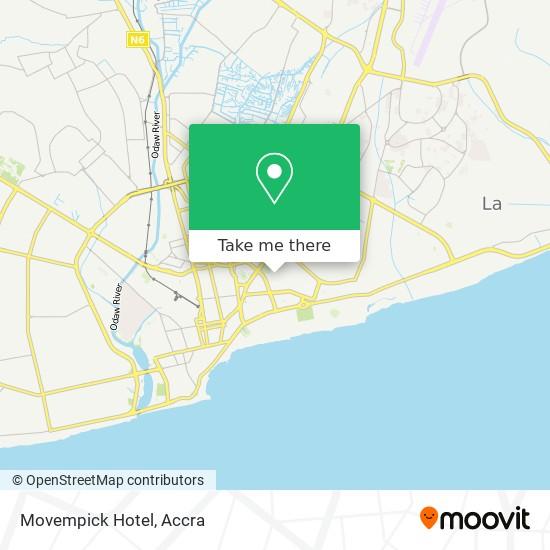 Movempick Hotel map