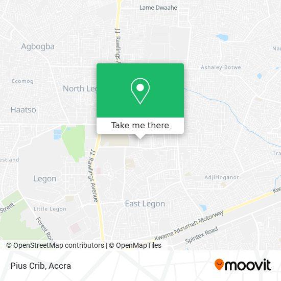 Pius Crib map