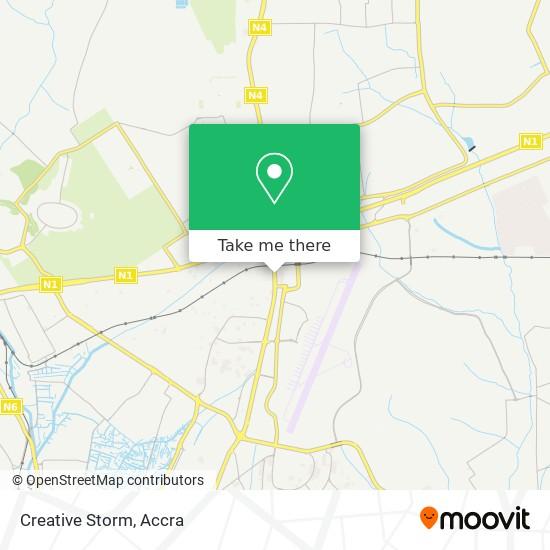 Creative Storm map
