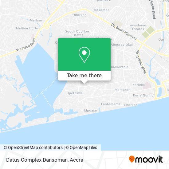 Datus Complex Dansoman map
