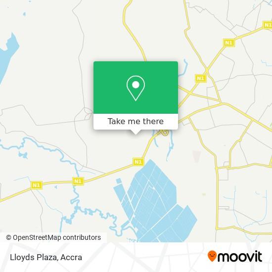 Lloyds Plaza map