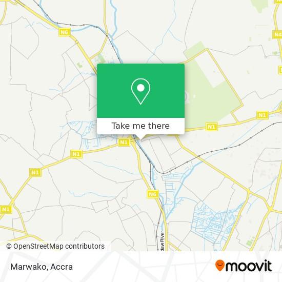 Marwako map