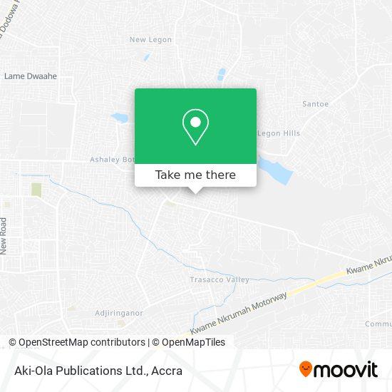 Aki-Ola Publications Ltd. map