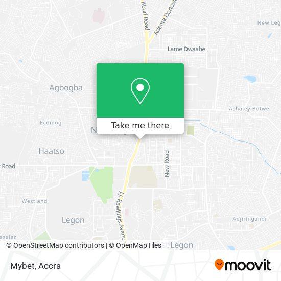 Mybet map