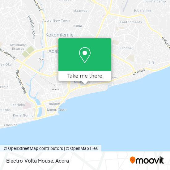 Electro-Volta House map