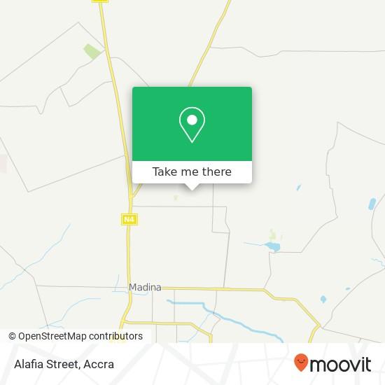 Alafia Street map