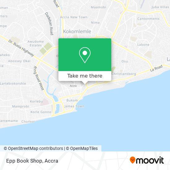 Epp Book Shop map