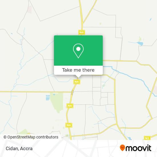 Cidan map