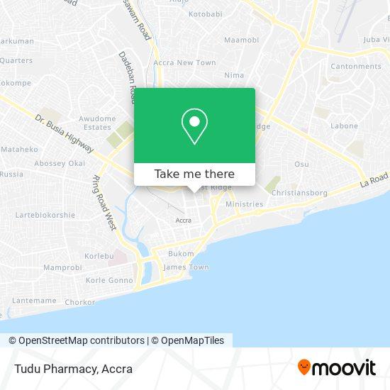 Tudu Pharmacy map