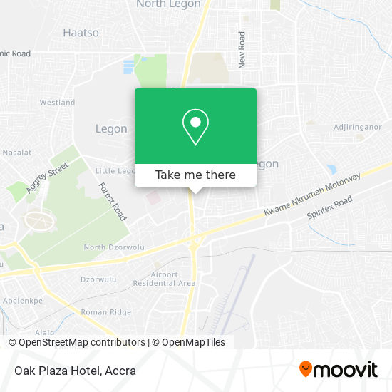 Oak Plaza Hotel map