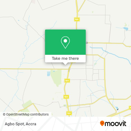 Agbo Spot map