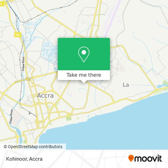 Kohinoor map