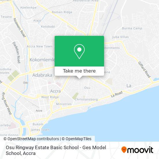 Ges Model School map