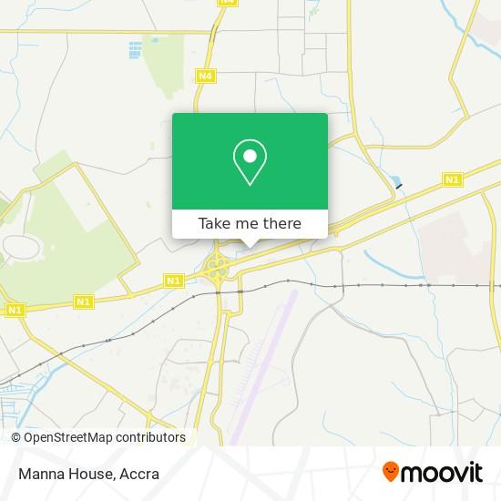 Manna House map