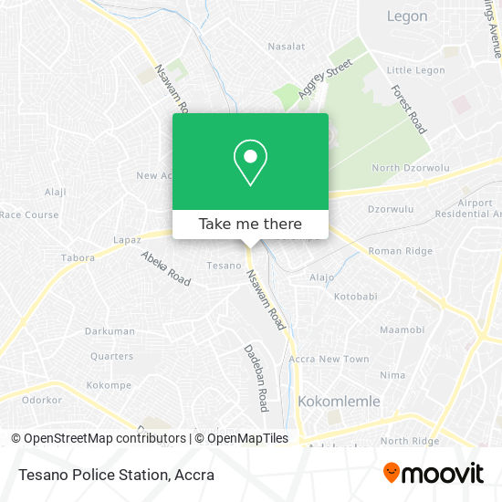 National Headquarters Tesano map