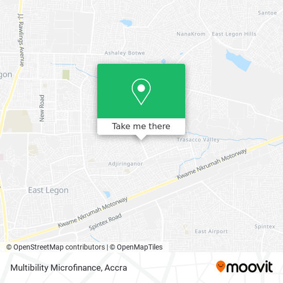 Multibility Microfinance map