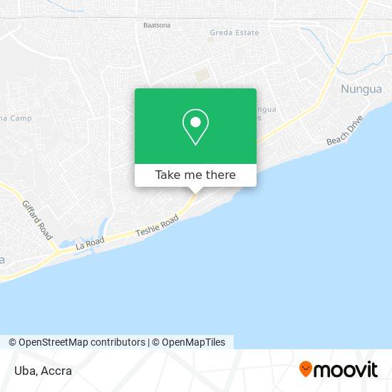 Ubs Bank map