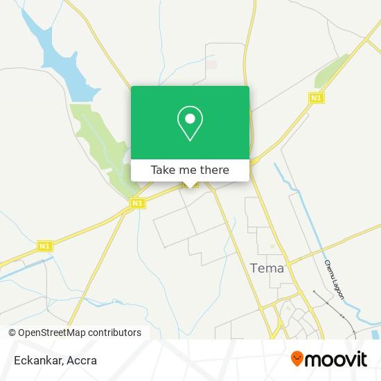Eckankar map