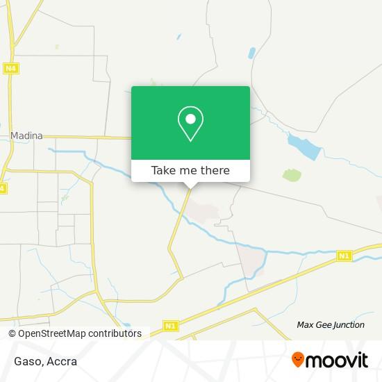 Gaso map