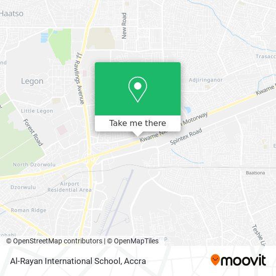 Al-Rayan International School map