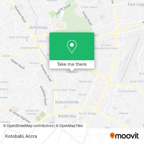 Kotobabi map