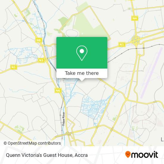Quenn Victoria's Guest House map