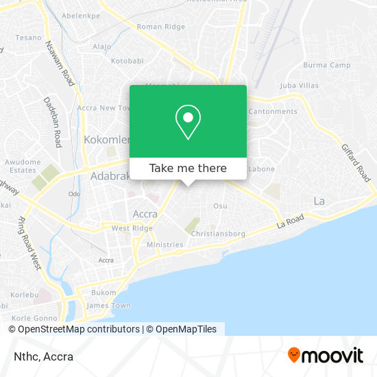 Nthc map