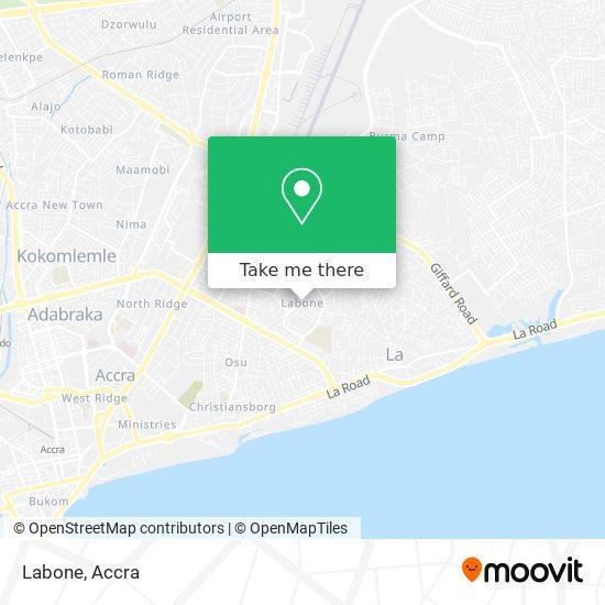 Labone map