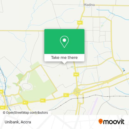 Unibank map