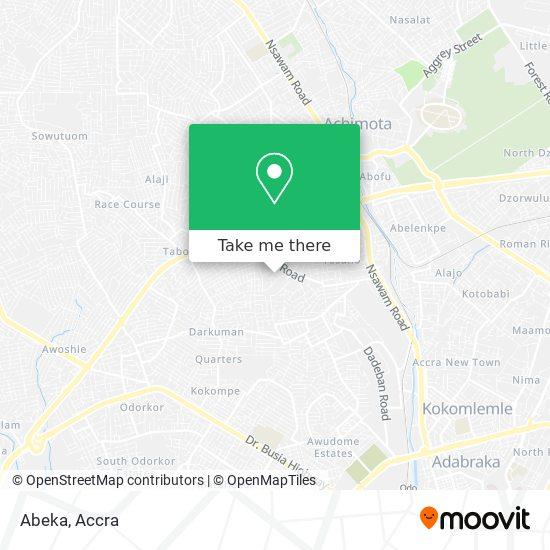 Abeka map