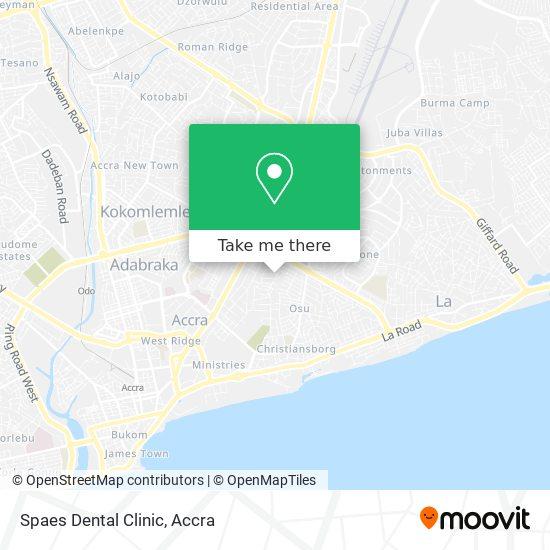 Spaes Dental Clinic map