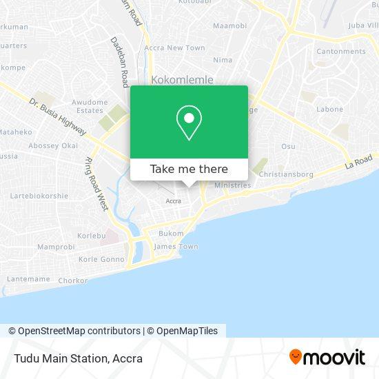 Tudu Main Station map