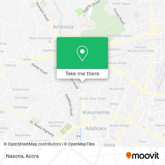 Nasona map